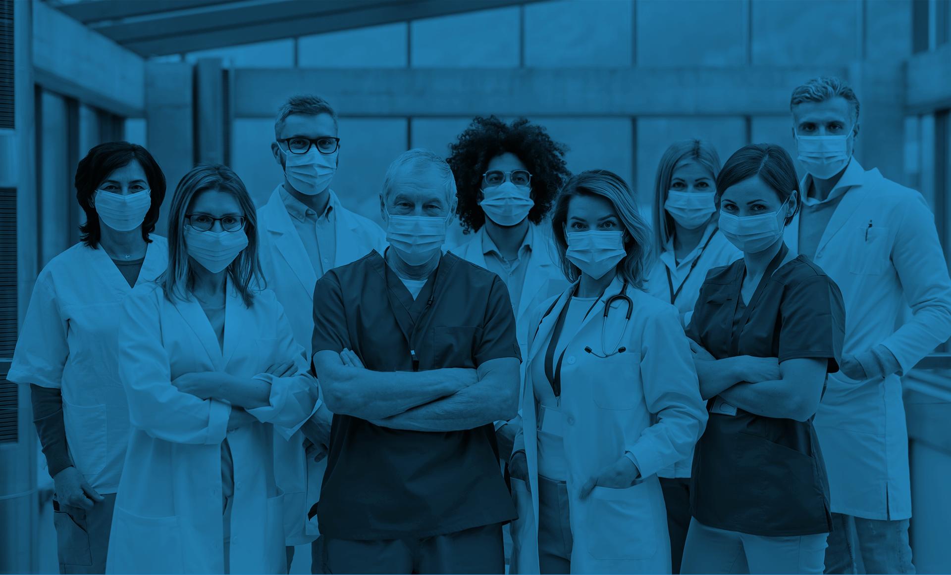 Merci au personnel de la santé qui travaille pendant la pandémie de coronavirus.
